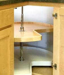 lazy susan hardware - your kitchen corner cabinet carousel