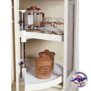 Lazy Susan Hardware   Kitchen Corner Cabinet Carousels By ...
