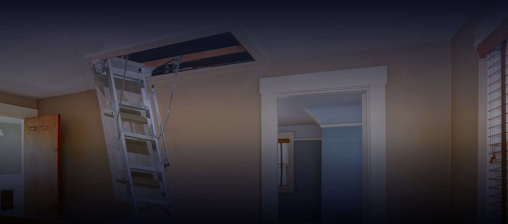 Pull down attic ladder ranges
